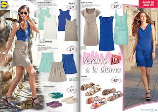 ropa de verano lidl 13-6-13