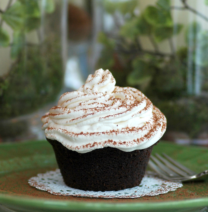 Irish Liqueur Cupcakes