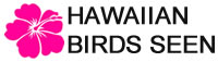 Hawaiian Birds Seen