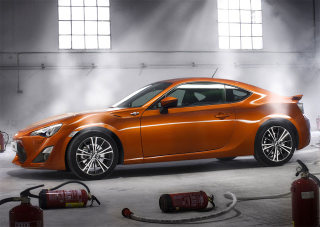 Toyota GT 86 is the production version of the Toyota FT-86