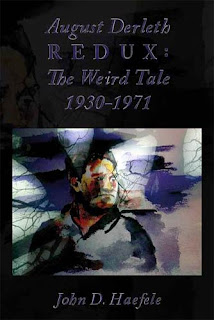 August Derleth Redux: The Weird Tale 1930-1971, copertina
