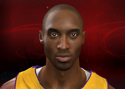 NBA 2K13 Kobe Bryant Cyber face Patch Download