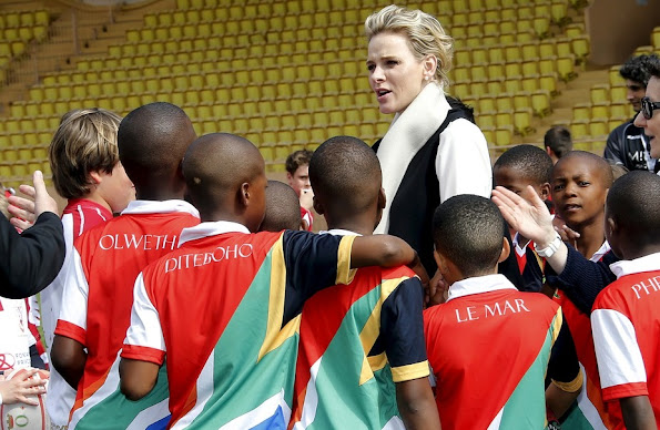 "In collaboration with the Princess Charlene of Monaco Foundation, the Fédération Monégasque de Rugby is organising the 4th edition of the ""Sainte-Dévote Challenge"" as part of the festivities in honour of the Patron Saint of the Principality"
