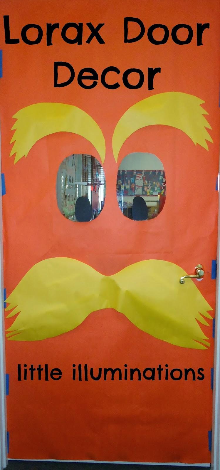 little illuminations lorax door decor