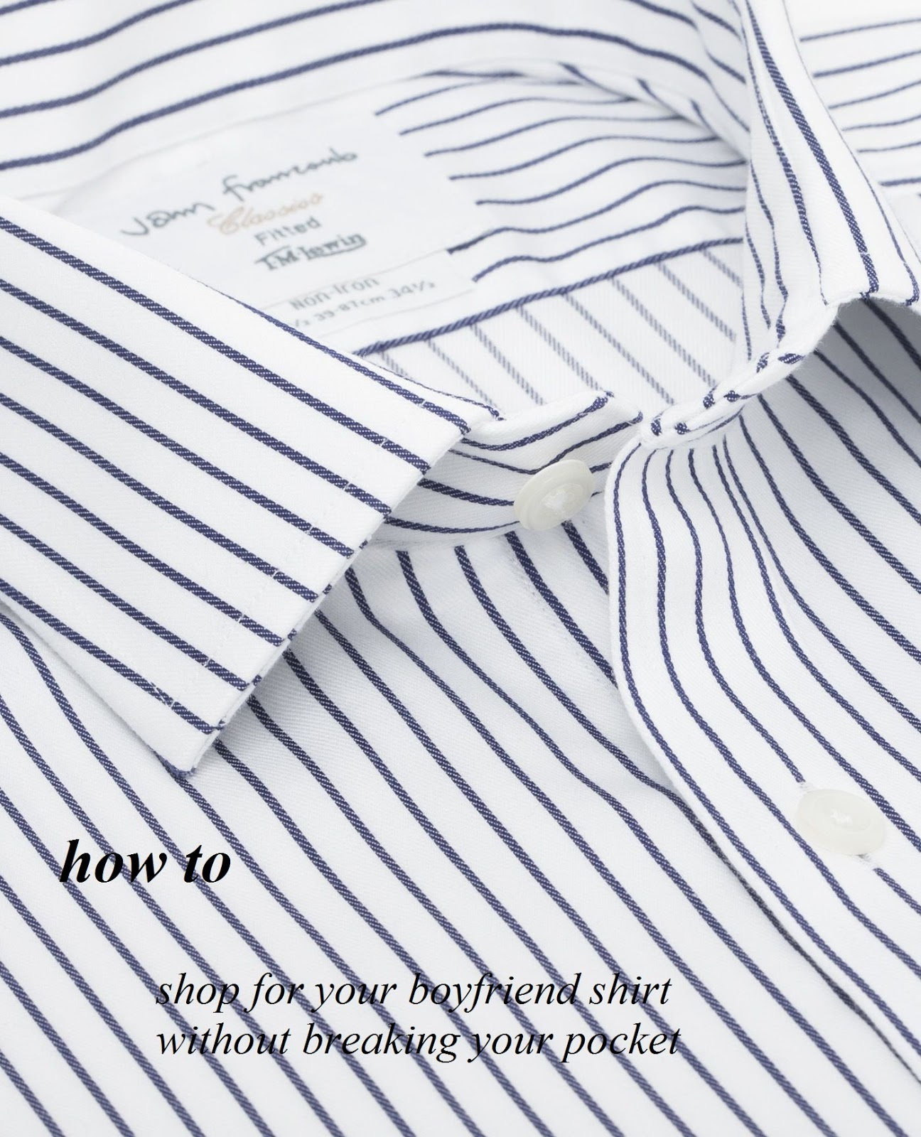 HOW TO MAKE YOUR OWN BOYFRIEND SHIRT