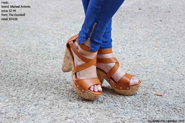 Michael Antonio Cognac Heels