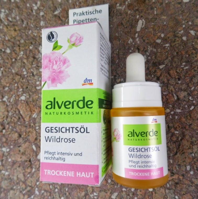 Alverde | Olejek z dzikiej róży do pielęgnacji twarzy