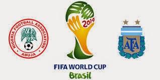 Nigeria 2 - 3 Argentina. Grupo F