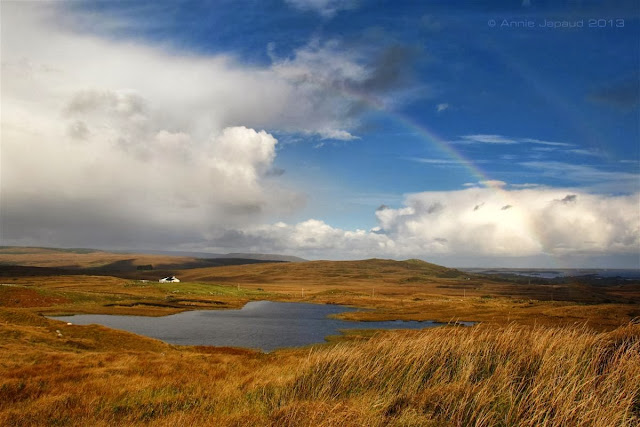 rainbow day in Connemara© Annie Japaud 2013, nature photography, landscapes, Connemara, Ireland, rainbows