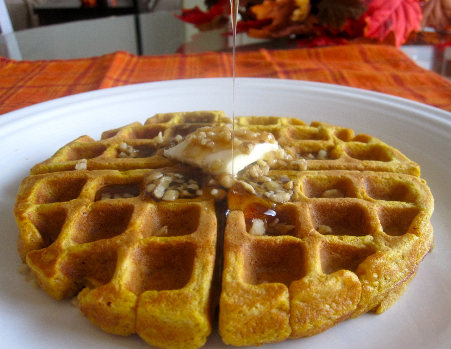 The Cultural Dish: Pumpkin Waffles