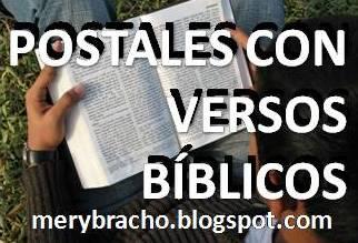 Postales cristianas con fotos, imágenes, dedicatorias de versículos