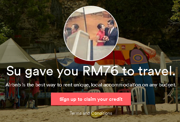 Get RM 76 off with Airbnb