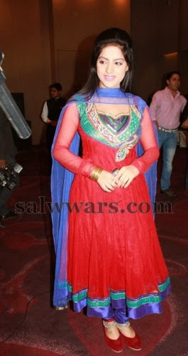 Deepika Red Salwar