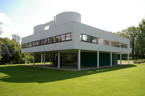 Ipaez villa savoye - Le corbusier casas ...