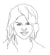 Selena Gomez para Colorir em 10 desenhos (selena coloring colorir coloriage)