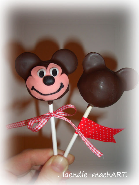 Mickey Mouse, Cake Pop, Cakepop, Tutorial
