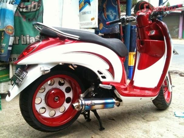 Modif Honda Scoopy Terbaru