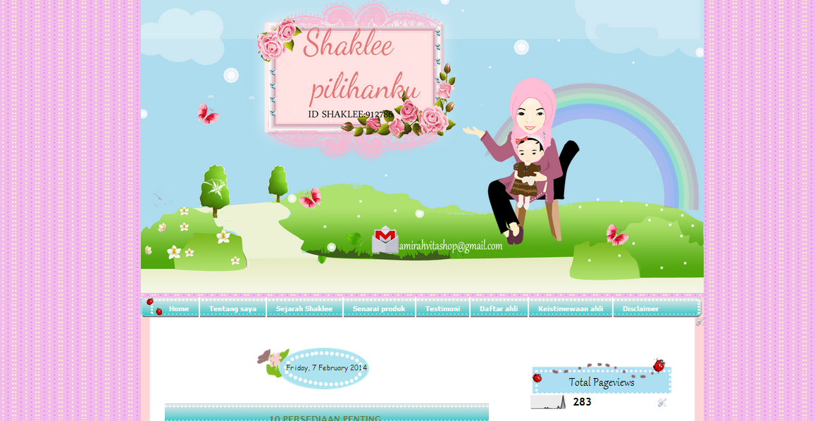 template cantik,murah,tutorial