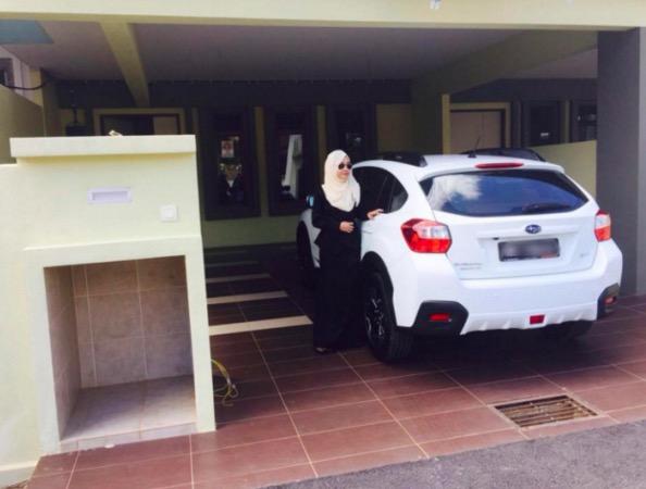 Rahsia bagaimana gadis berusia 24 tahun ini mampu beli rumah superlink dan Subaru