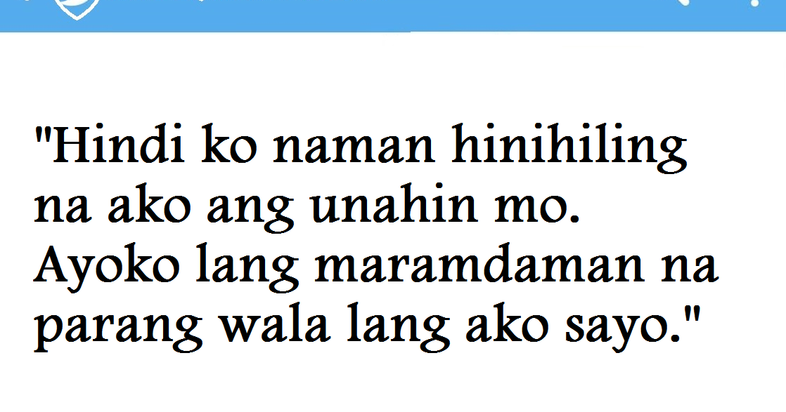 Hugot Funny Love Quotes : Baliwala Hugot Qoutes Tagalog Love Quotes in Life