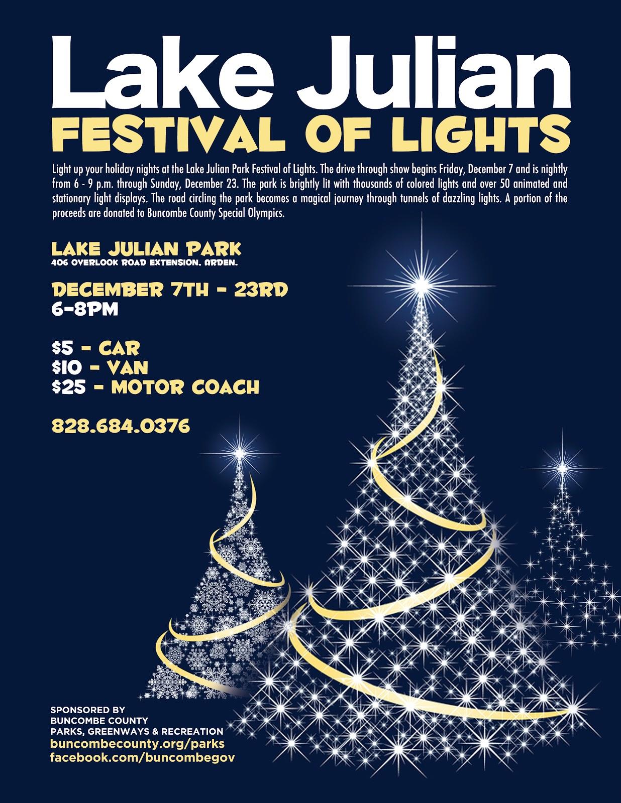 Lake Julian Festival Of Lights