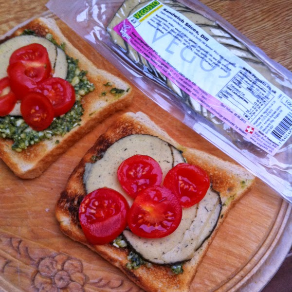 vegan dill slices