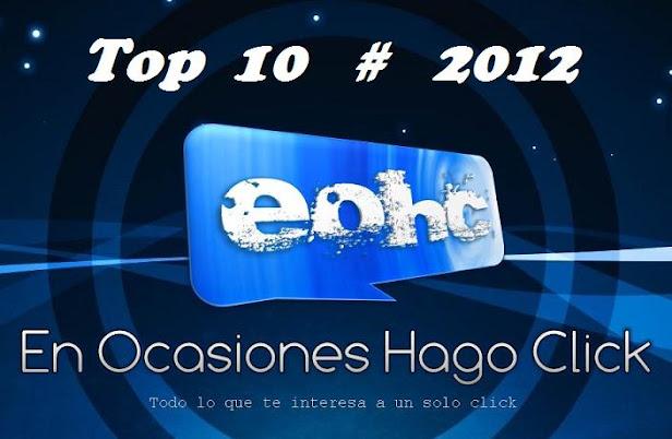 TOP 10 de noticias de EOHC en el año 2012