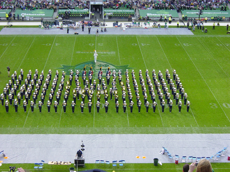 NOTRE DAME VS NAVY SEPTEMBER 1 2012 DUBLIN IRELAND