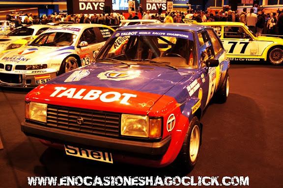 Talbot rallyes stig blomqvist