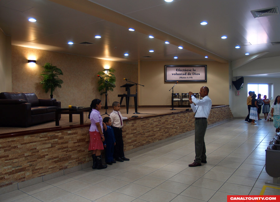 Assembly Hall of Jehovah's Witnesses in Campoy, Peru