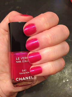 Chanel, Chanel nail polish, Chanel Le Vernis Nail Colour, Chanel Tentation, nail, nails, nail polish, polish, lacquer, nail lacquer, mani, manicure, Valentine's Day, Chanel nail lacquer