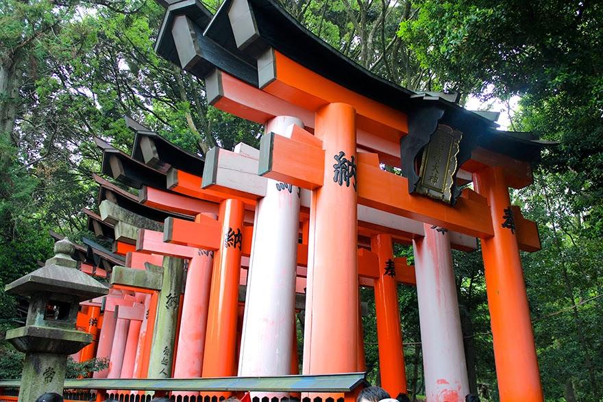 Puertas torii en Fushimi Inari