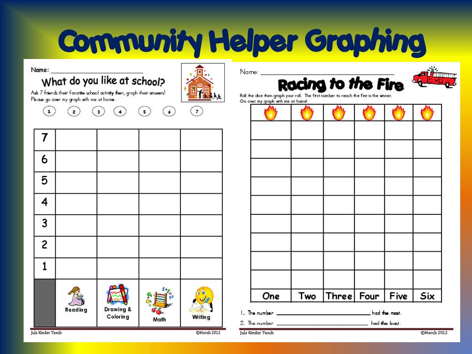 Community Helpers Kindergarten