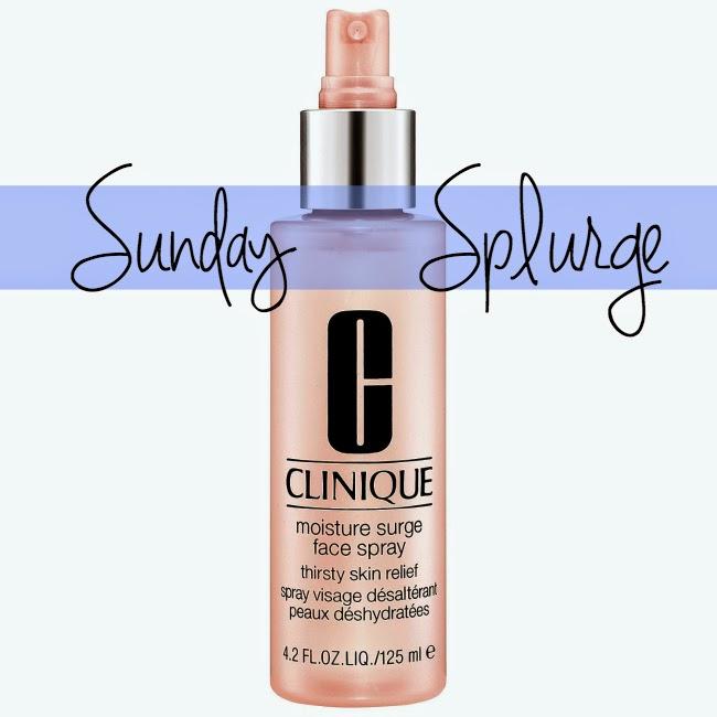 Sunday Splurge, Beauty, Winter Skin Care, Winter Essentials, Spring Essentials, Clinique, skin care, Moisture Surge Face Spray, Facial Sprays, Best Facial Sprays