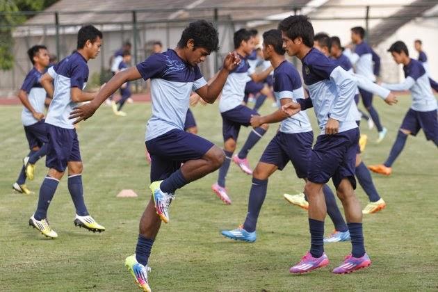 Jadwal Siaran Bola Timnas U-19 di Piala Asia 2014