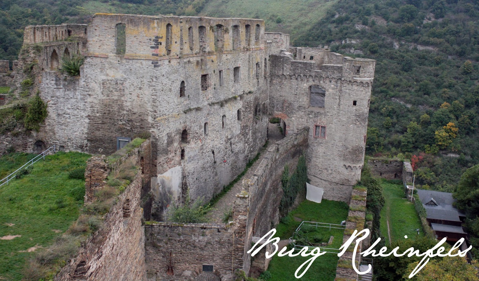 Ruins of Burg Rheinfels - The Tipsy Terrier blog