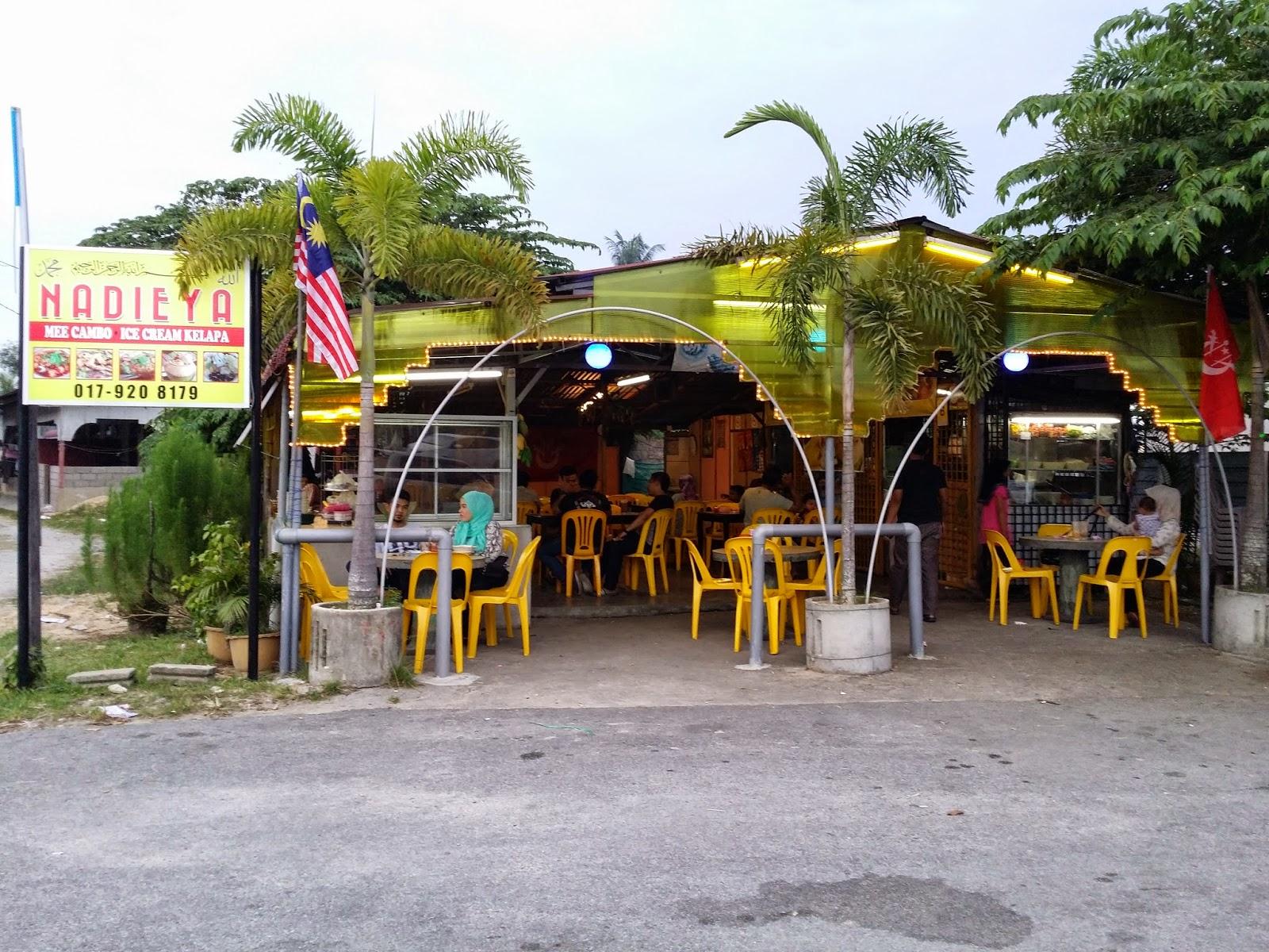 Ais Krim Kelapa di Wakaf Bharu, aiskrim nyuir di kelantan, aiskrim kelapa, ais krim kelapa, restoran nadieya, aiskrim nyiur,