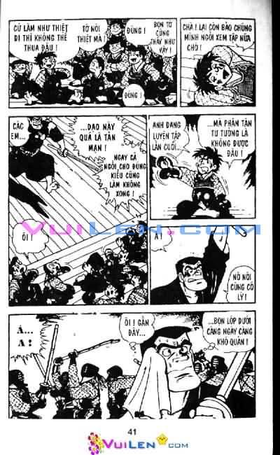 Siêu quậy Teppi chap 6 - Trang 41