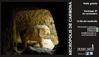 Visita a la Necrópolis de Carmona