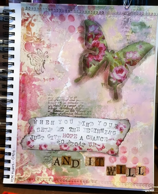 Hope Floats Art Journal