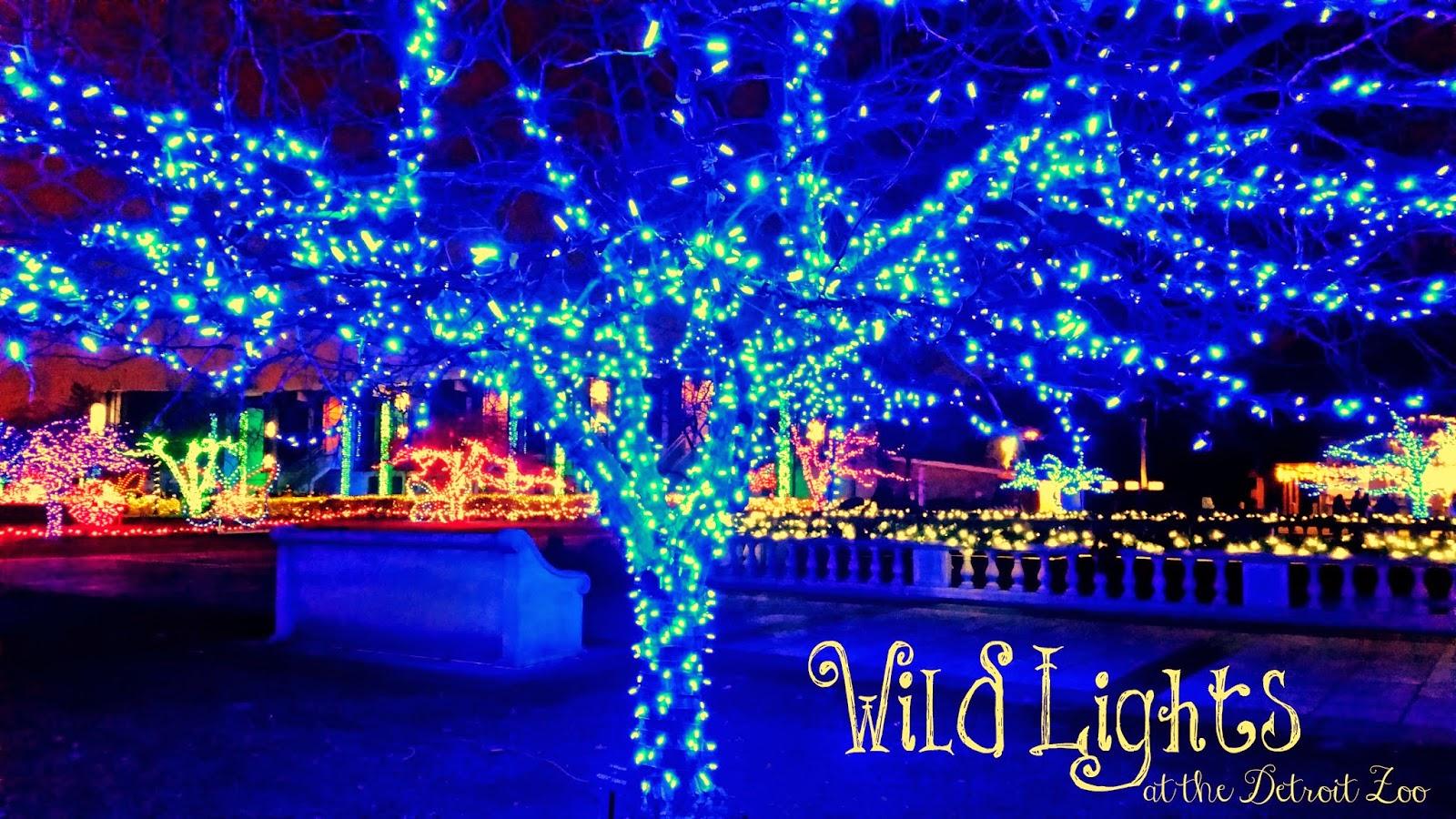 #ad #WildLights Detroit Zoo