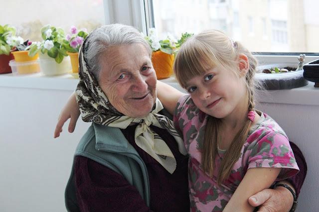 в гостях у бабушки ани