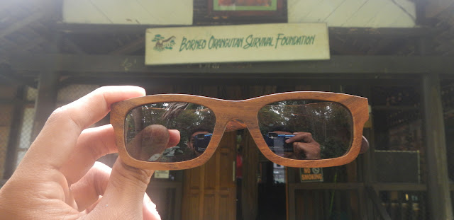 di depan borneo orangutan survival foundation
