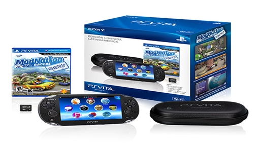 O PlayStation Vita da Sony comercializado no Brasil.