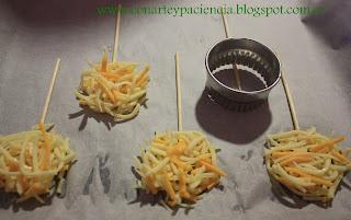 Piruletas Saladas Con Arte y Paciencia