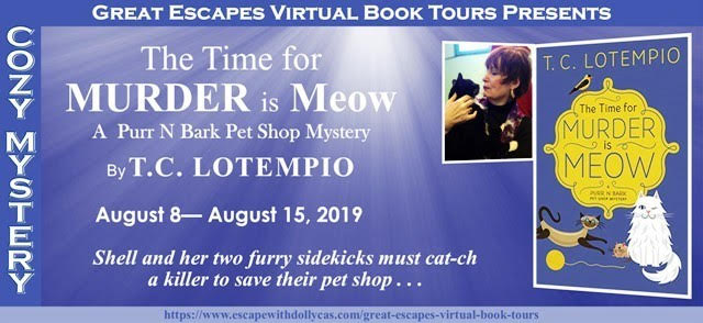 TIME FOR MURDER IS MEOW BLOG TOUR!