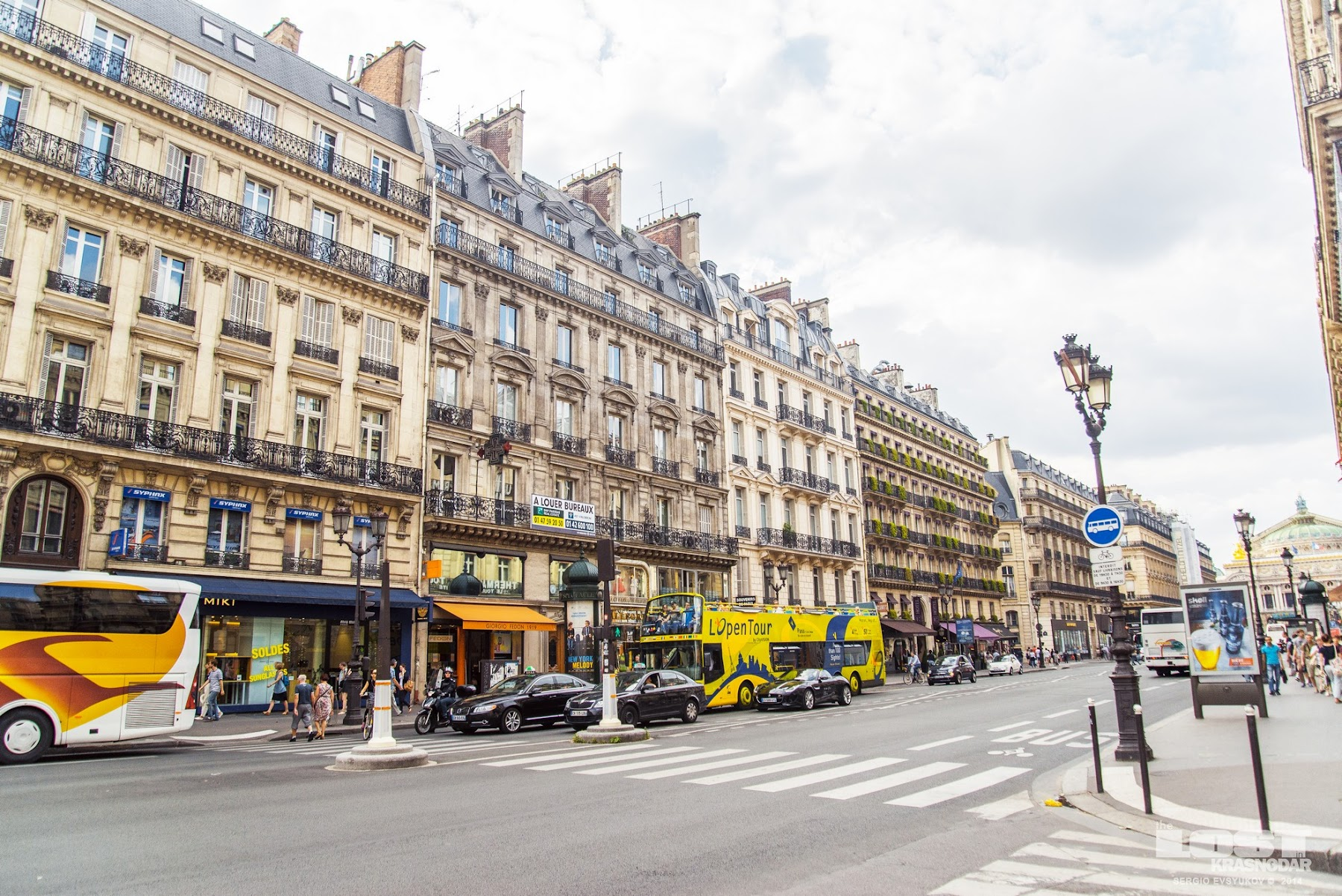 Avenue de l'Opéra in Paris