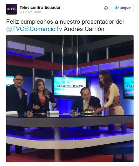 andres carrion despedido canal nuevo