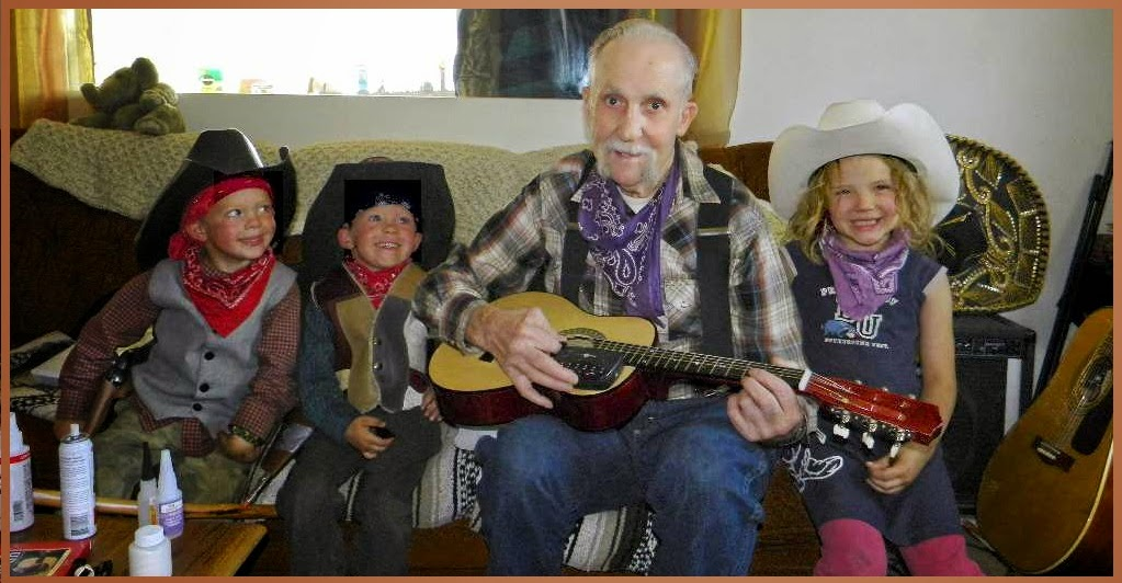Guitar Tuning With Grandpa