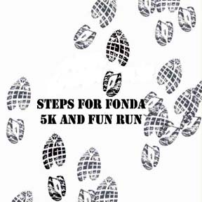 Steps For Fonda 5K and Fun Run